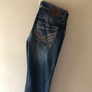•Buckle Black jeans•